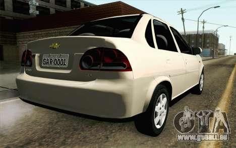 Chevrolet Classic pour GTA San Andreas laissé vue