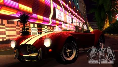 ENBSeries pour les faibles PC v5 pour GTA San Andreas quatrième écran