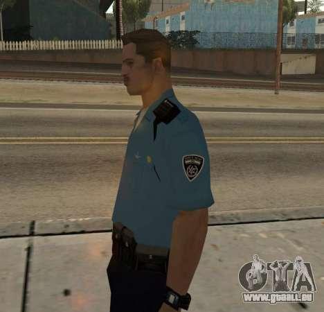 Israeli Police Officer pour GTA San Andreas deuxième écran