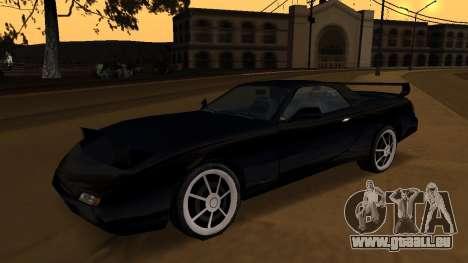 Beta ZR-350 Final für GTA San Andreas Seitenansicht