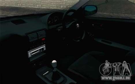 Honda Integra Type R 2000 Stock pour GTA San Andreas vue de droite