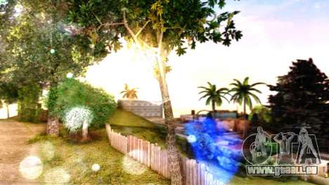 ENB for SA:MP v5 pour GTA San Andreas cinquième écran