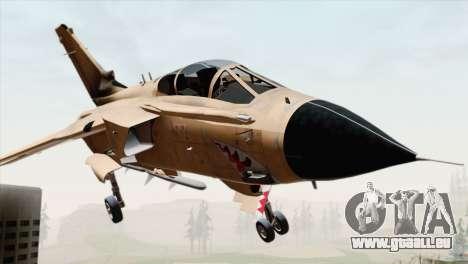 Tornado MIG Eater pour GTA San Andreas vue arrière