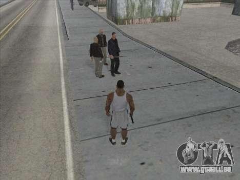 Les Russes dans le quartier Commercial pour GTA San Andreas septième écran