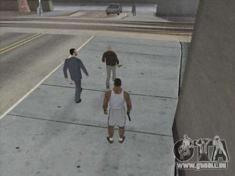 Die Russen in die Shopping-district für GTA San Andreas achten Screenshot