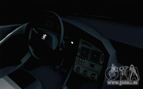 Peugeot 405 Tuning pour GTA San Andreas vue de droite