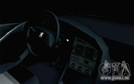 Peugeot 405 Tuning für GTA San Andreas rechten Ansicht
