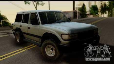Toyota Land Cruiser 80 v1.0 pour GTA San Andreas