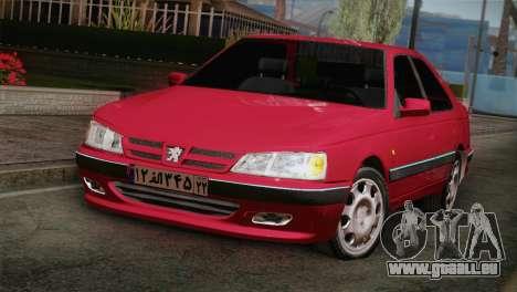 Peugeot Pars für GTA San Andreas Rückansicht