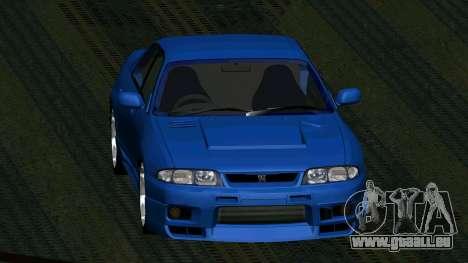 Nissan Skyline R33 4door outech pour GTA San Andreas vue de droite