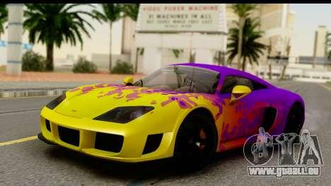 Noble M600 2010 FIV АПП pour GTA San Andreas salon