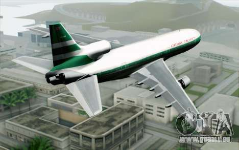 Lookheed L-1011 Cathay P für GTA San Andreas linke Ansicht