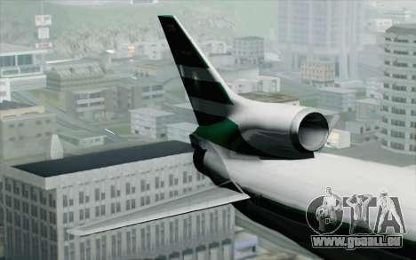 Lookheed L-1011 Cathay P pour GTA San Andreas sur la vue arrière gauche