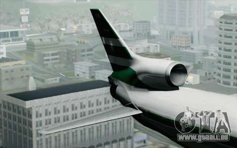 Lookheed L-1011 Cathay P für GTA San Andreas zurück linke Ansicht