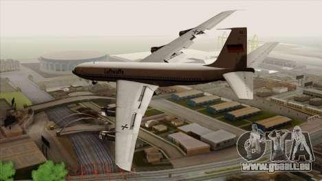 Boeing 707-300 Luftwaffe pour GTA San Andreas laissé vue
