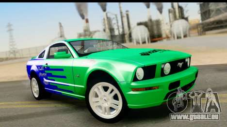 Ford Mustang GT für GTA San Andreas obere Ansicht