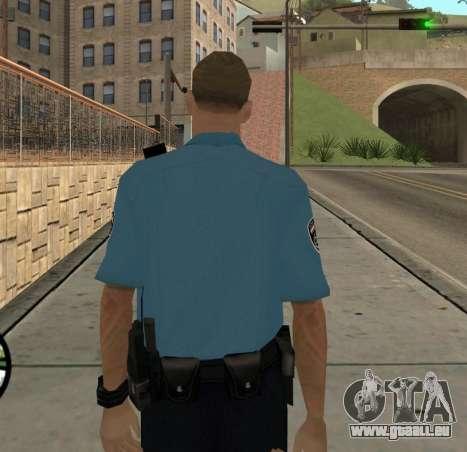 Israeli Police Officer pour GTA San Andreas quatrième écran
