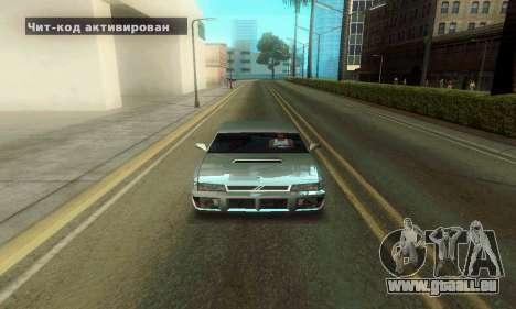 ENB Series Colorful for Low PC pour GTA San Andreas deuxième écran