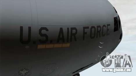 C-17A Globemaster III USAF March für GTA San Andreas Rückansicht