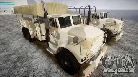 GTA 5 Barracks v2 für GTA 4 linke Ansicht