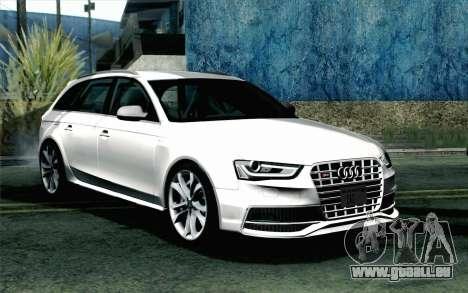 Audi S4 Avant 2013 pour GTA San Andreas