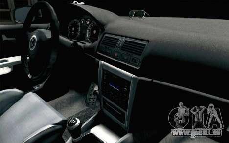 Volkswagen Golf Mk4 2002 Street Daily für GTA San Andreas rechten Ansicht
