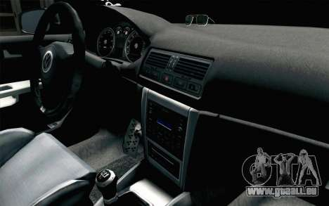 Volkswagen Golf Mk4 2002 Street Daily pour GTA San Andreas vue de droite