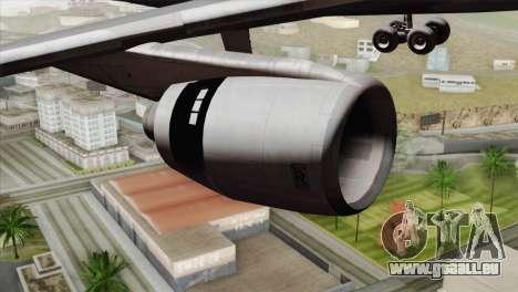 Lookheed L-1011 PSA pour GTA San Andreas vue de droite