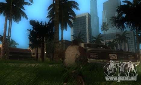 ENB pour les moyennes et PC pour GTA San Andreas cinquième écran