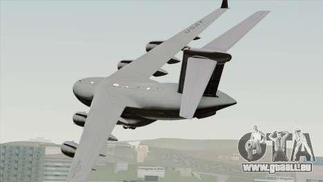 C-17A Globemaster III USAF McChord für GTA San Andreas linke Ansicht