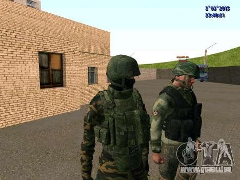 Guerrier bataillon à l'Est pour GTA San Andreas quatrième écran