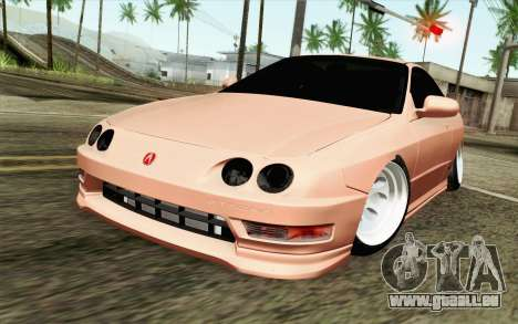 Acura Integra Type R 2001 JDM pour GTA San Andreas