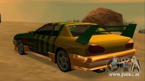 Luni Elegy FIXED pour GTA San Andreas moteur