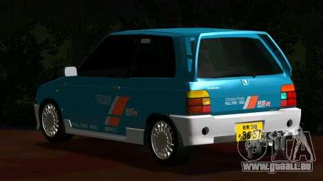 Suzuki Alto Works RS/R für GTA San Andreas zurück linke Ansicht