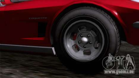 GTA 5 Invetero Coquette Classic TL IVF für GTA San Andreas zurück linke Ansicht
