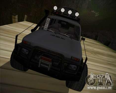 VAZ 2131 Niva 5D OffRoad pour GTA San Andreas vue arrière