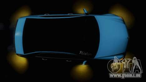 Mercedes-Benz E63 AMG 2010 Vossen wheels pour GTA San Andreas vue de dessus