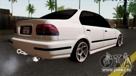 Honda Civic 1.6 für GTA San Andreas linke Ansicht