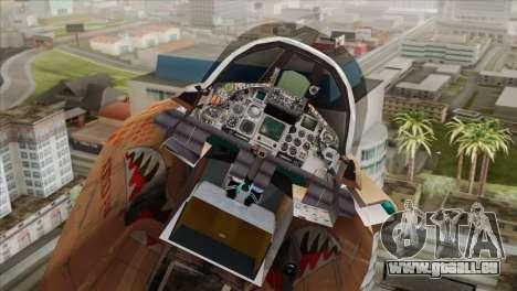 Tornado MIG Eater pour GTA San Andreas vue de droite