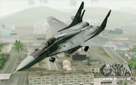 MIG-29 Polish Air Force für GTA San Andreas