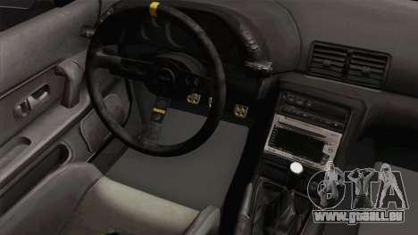 Nissan Skyline R32 Drift JDM pour GTA San Andreas vue de droite