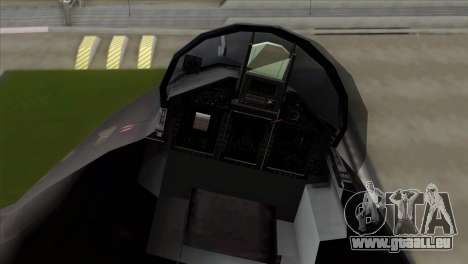 MIG 1.44 China Air Force für GTA San Andreas zurück linke Ansicht