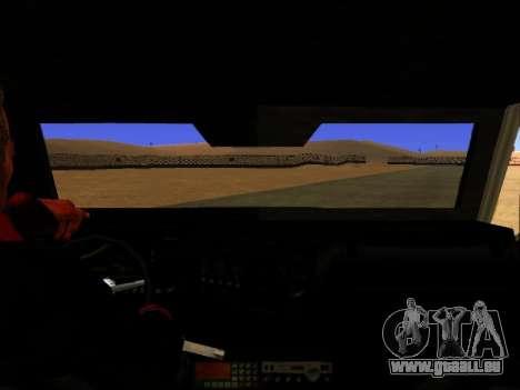 HVY Aufständischen Pickup für GTA San Andreas zurück linke Ansicht
