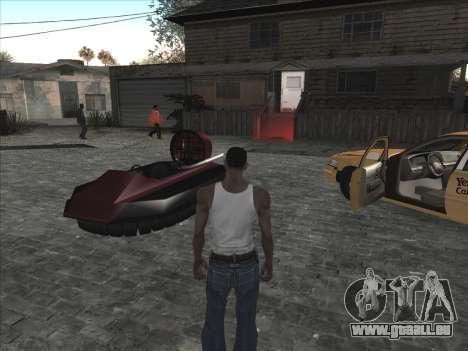 Persönliche Auto auf der Grove Street CJ für GTA San Andreas dritten Screenshot