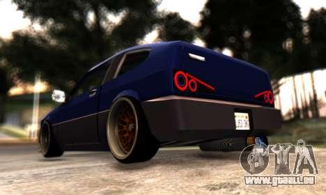 Blista Compact By VeroneProd pour GTA San Andreas vue arrière
