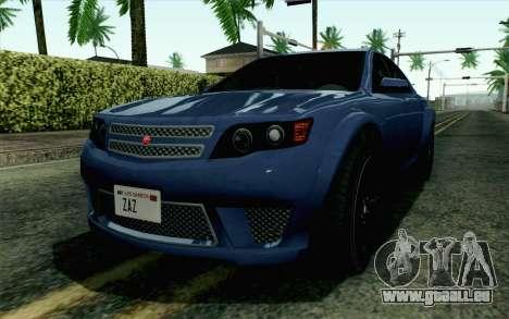 GTA 5 Cheval Fugitive HQLM pour GTA San Andreas