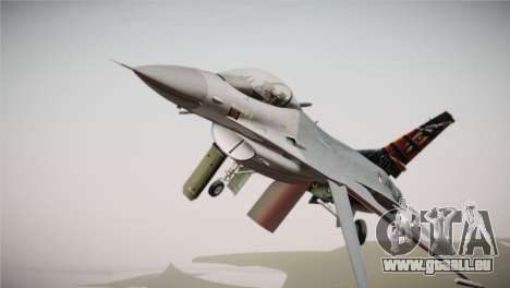 F-16 Fighting Falcon 50th Anniv. of Squadron 313 für GTA San Andreas rechten Ansicht