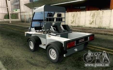 Dacia Logan MXP pour GTA San Andreas laissé vue