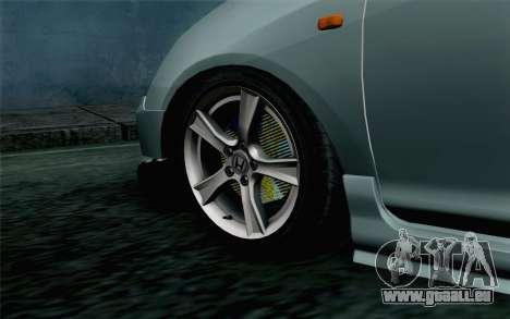 Honda Civic Type R für GTA San Andreas zurück linke Ansicht