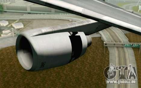 Lookheed L-1011 Hawaiian für GTA San Andreas rechten Ansicht